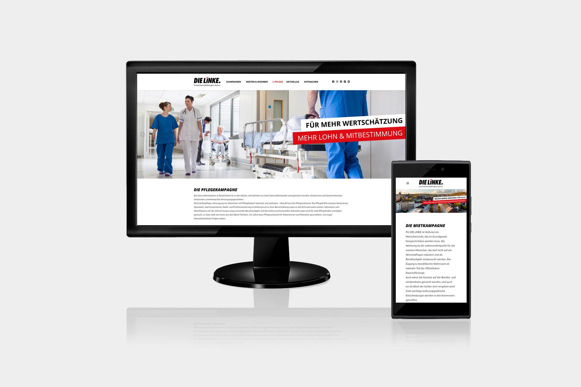 webdesign-dielinke-kampagne