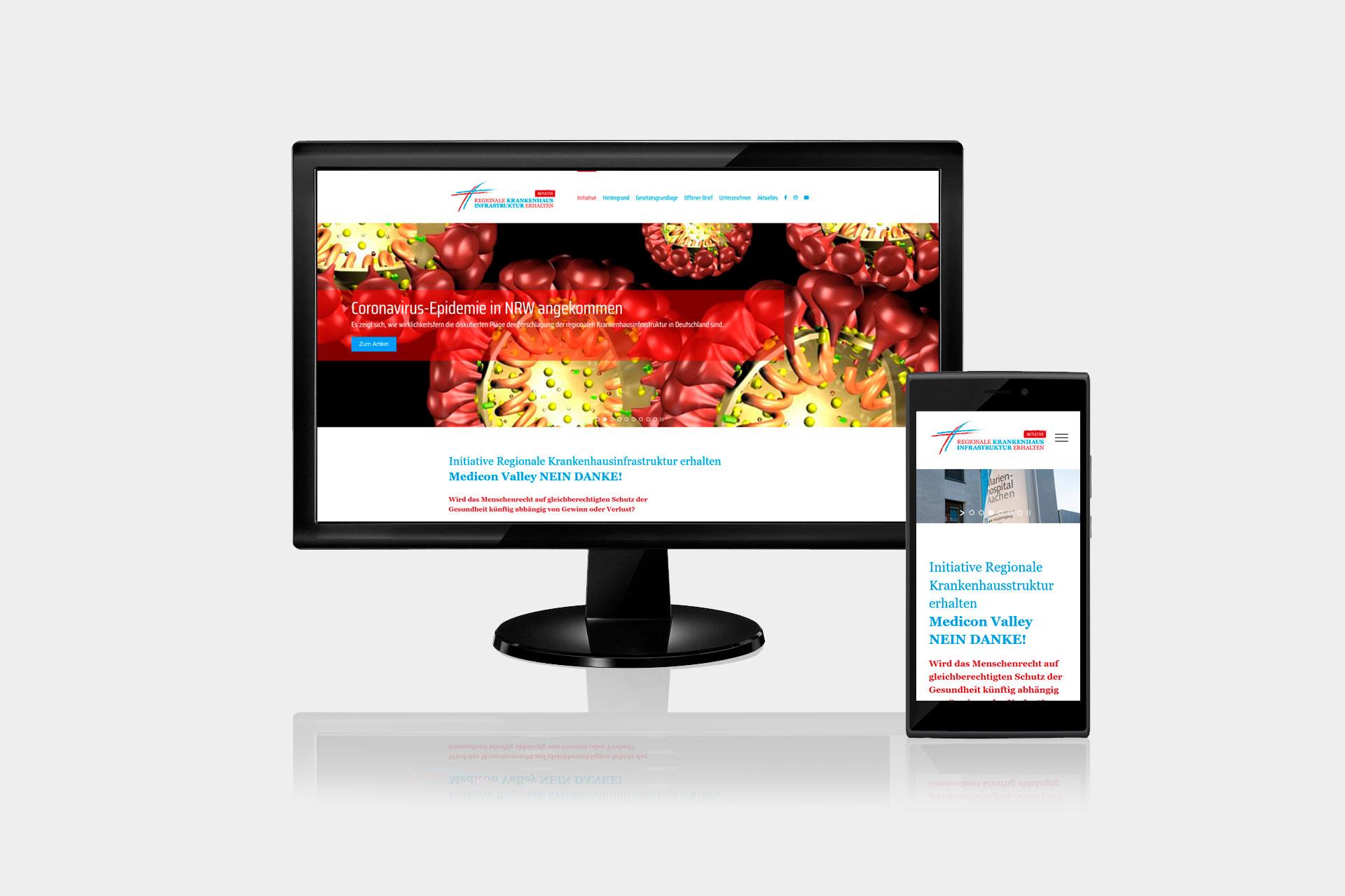 webdesign-regionale-krankenhausinfrastruktur